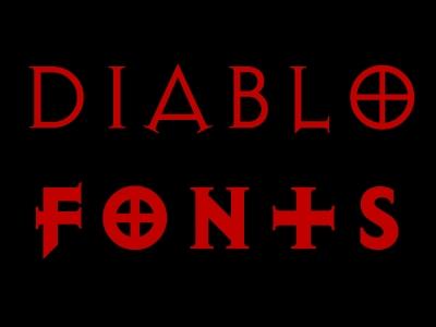Diablo Fonts