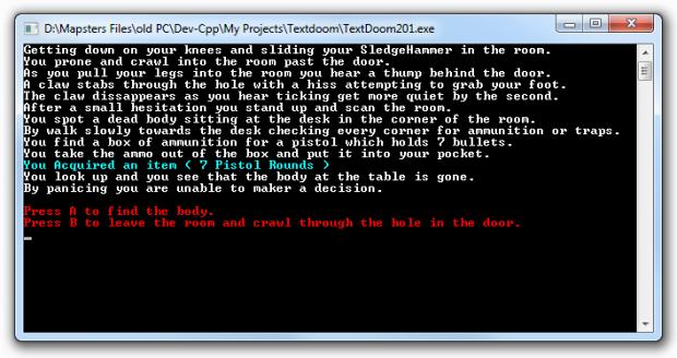 Text Doom
