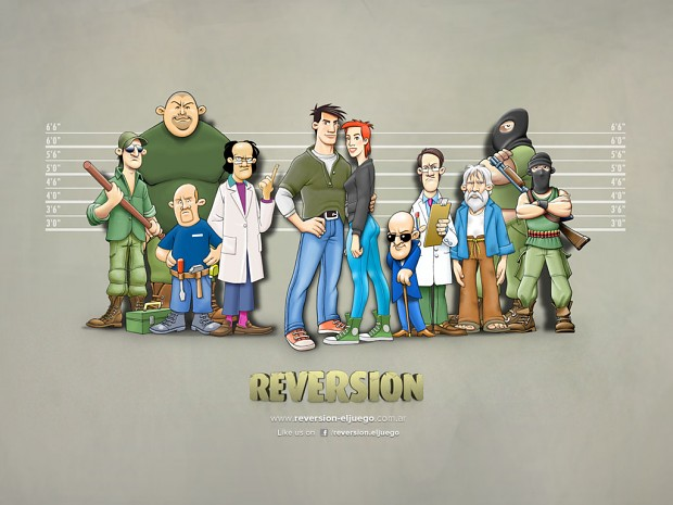 Reversion: Chapter I - The Escape