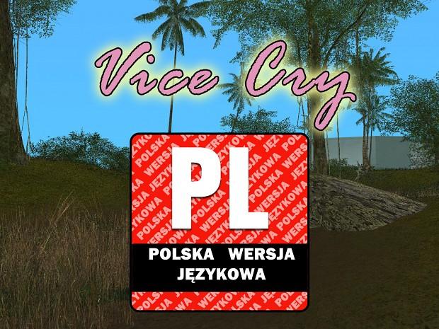 Vice Cry - Polish Language/Spolszczenie