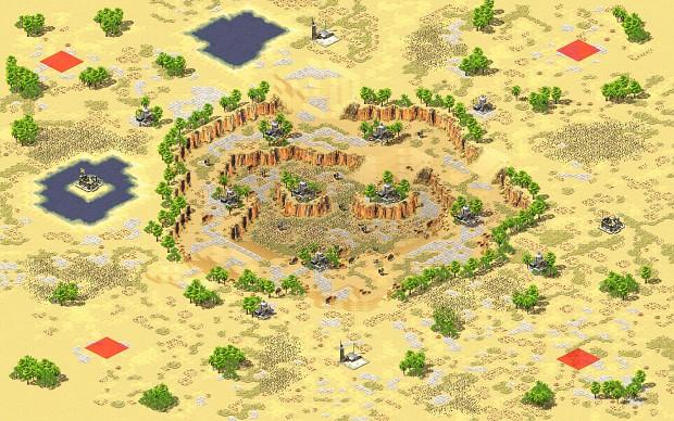 Yuri's Revenge - Desert Arena (2-4)