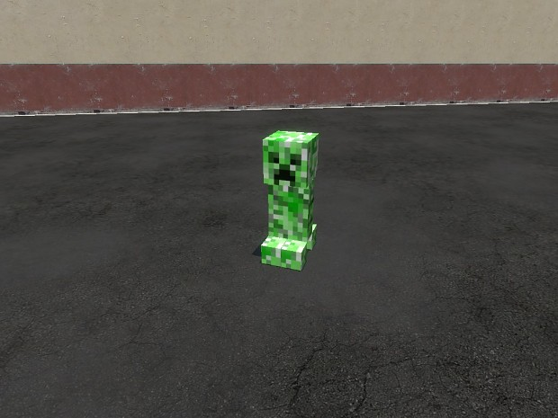 creeper snpc from minecraft + working