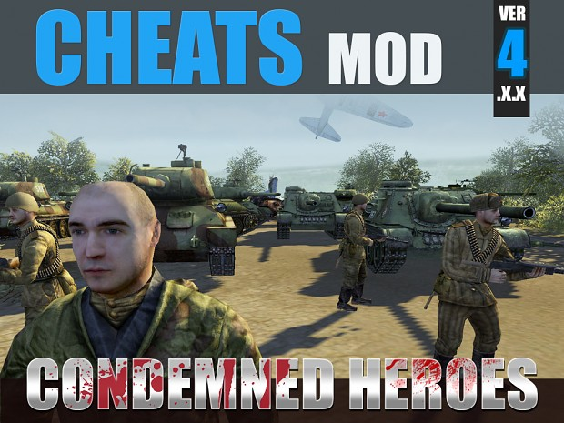 Cheats mod - Condemned Heroes