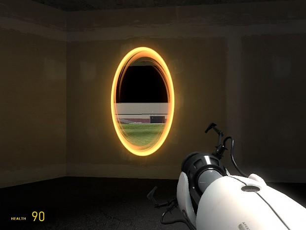 Portal gun with models