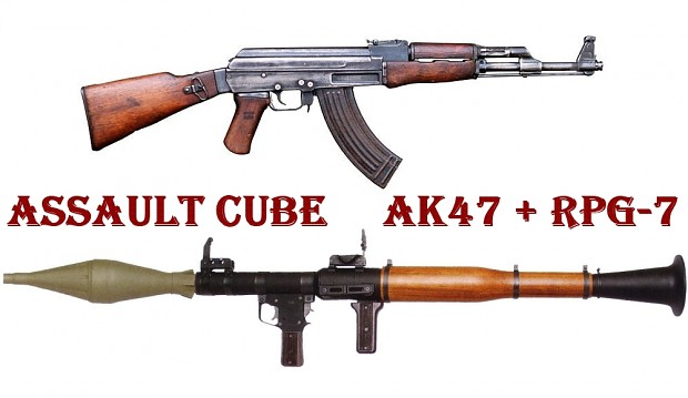 Assault Cube Ak47 and RPG-7 models
