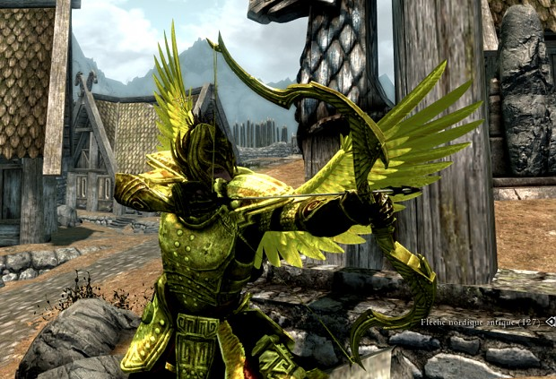 Gold armor HD standalone + craftable english