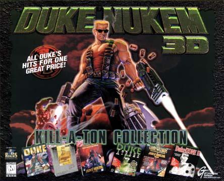 Duke Nukem 1400 map collection