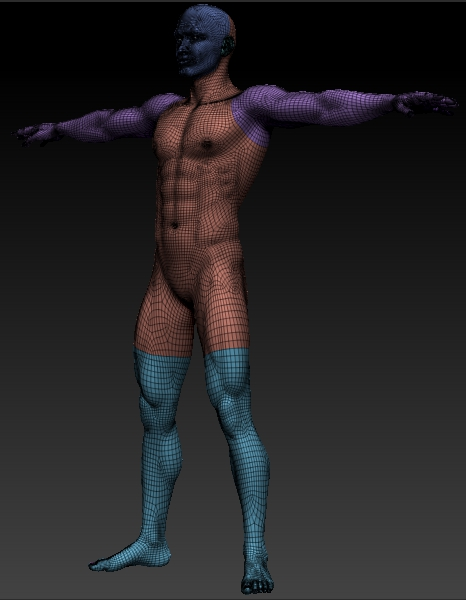 Base Male Model - Zbrush and .obj