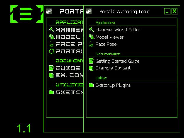 Electron's Portal 2 Authoring Tools Skin