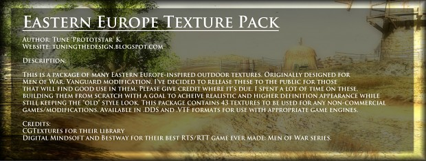 Eastern Europe Texture Pack