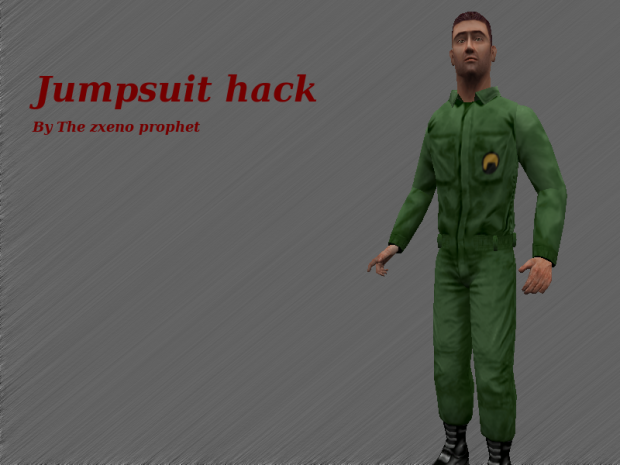 Utility jumpsuit