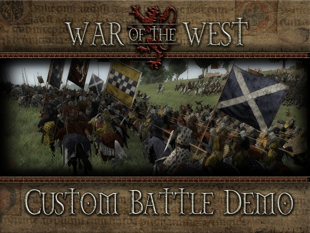 War of the West - Custom Battle Demo