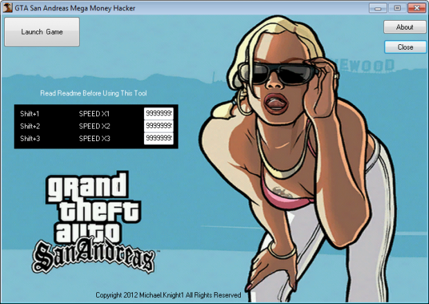 GTA San Andreas Mega Hacker