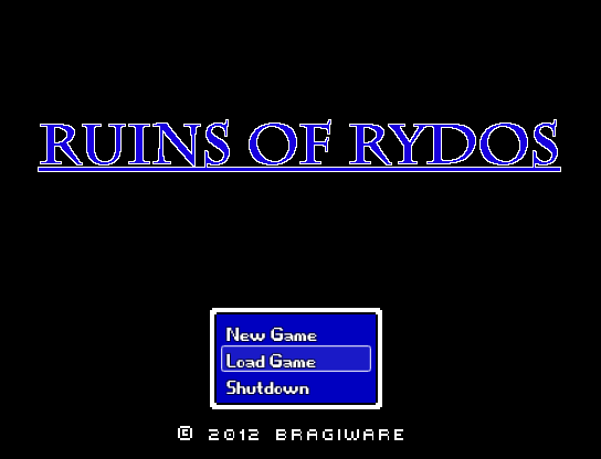 Ruins of Rydos - Alpha Demo v1.2