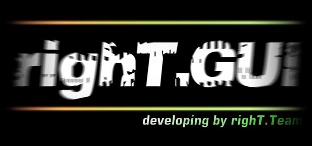 righT.GUI V1.05 BETA