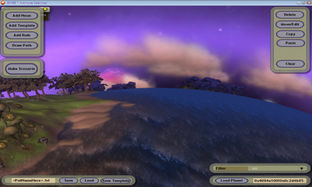 Spore: Creature Stage Level Editor