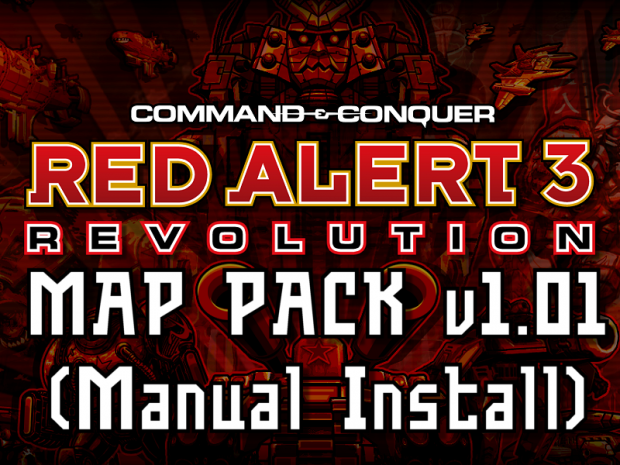Red Alert 3: Revolution Map Pack v1.01 (Manual)