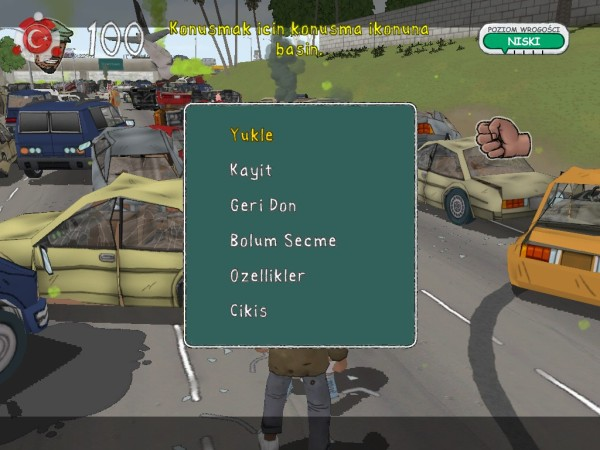 Bad Day L.A. Turkish Language Patch