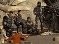 Mass Effect 3 Alliance soldiers