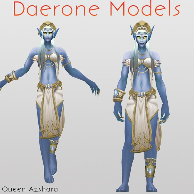 Queen Azshara, Queen of the Kal'dorei
