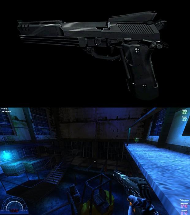 Auto-9 Handgun