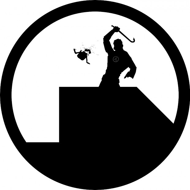 Black Mesa Logo w/ Gordon Freeman Spray