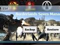 Borderlands saves manager