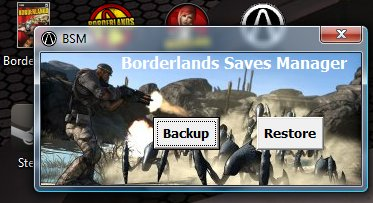 Borderlands saves manager