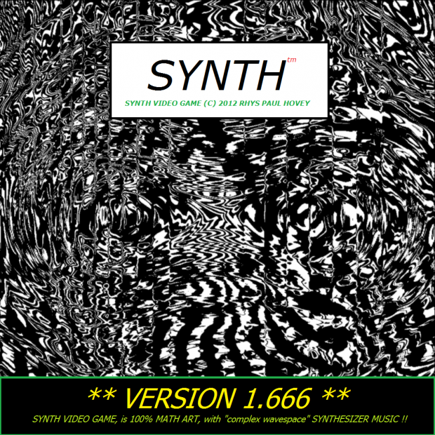 SYNTH(tm) the video game v1.666 (MASTERS RELEASE)