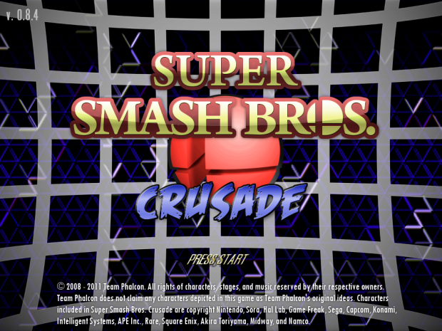 Super Smash Bros. Crusade 0.8.4