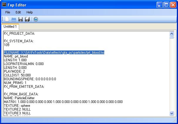 Fxp Editor 1.0