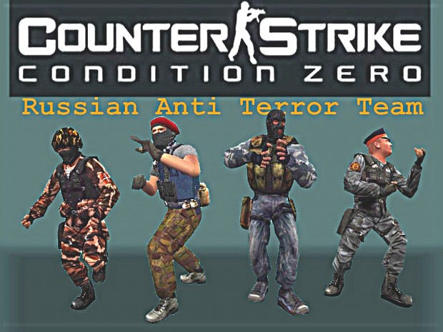 Russian Anti Terror Team Replacement V2 for CS1.6