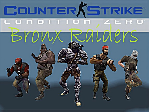 Terror Team Bronx Raiders Replacement V2 for CS1.6