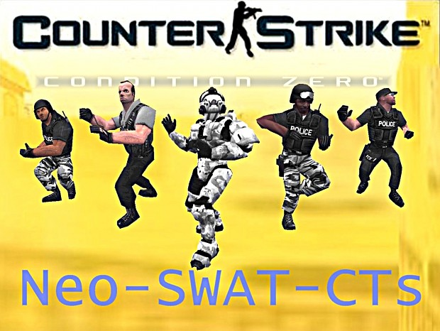 Neo-SWAT Anti Terror Team Replacement V2 for CS1.6