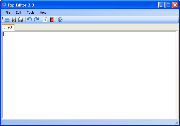 Fxp Editor 2.0