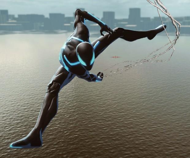 Amazing Spider-Man Tron Suit