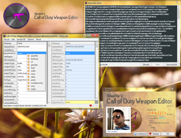 Call of Duty (universal) WeaponFile Editor
