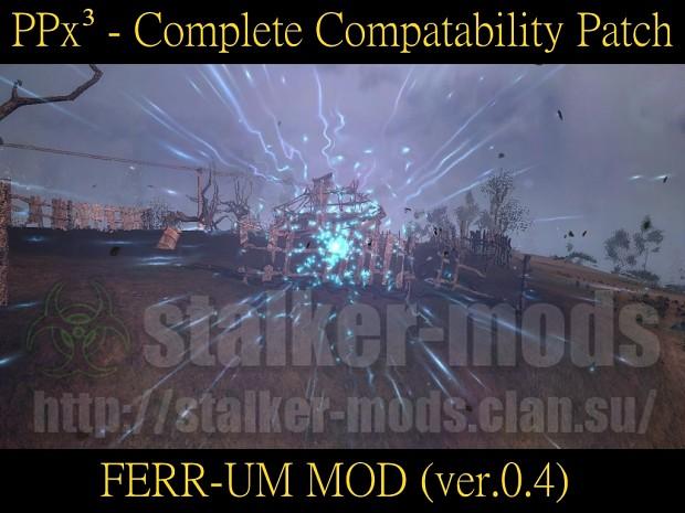PPx³ - FERR-UM MOD 0.4 - Compatability Patch