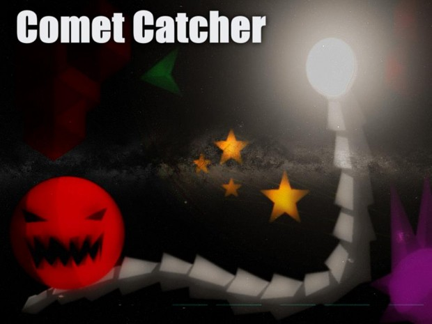 Comet Catcher Game (Play it in 3D!)