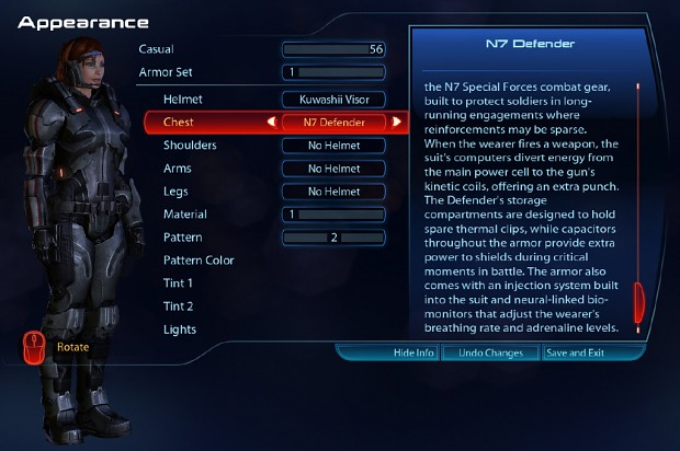 Appearance Addon ME3