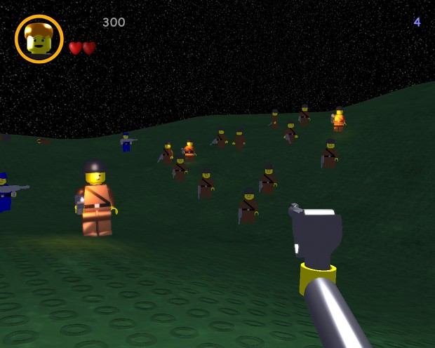 LEGO Wolf3D September 2012 Release with New Level