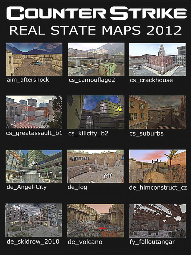 CS1.6 Real State Map Pack 2012