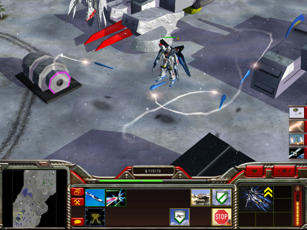 Strike Freedom addon for Xenoforce Mod