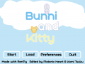 Bunni and Kitty 2.0 windows