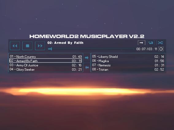 Homeworld2 Music Player V2.3