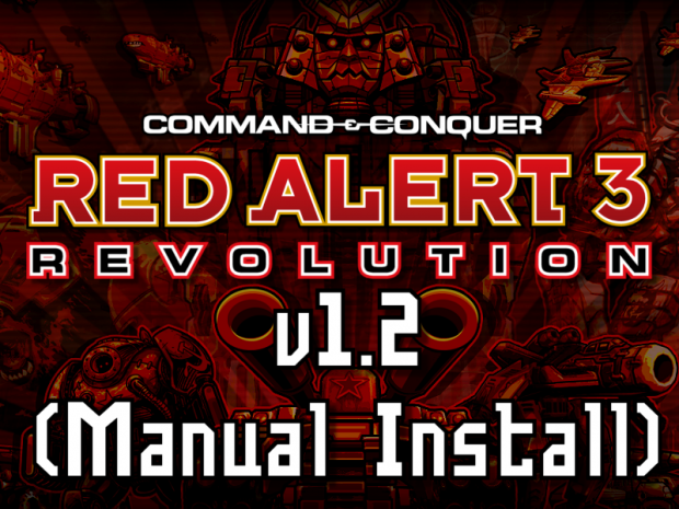 Red Alert 3: Revolution v1.2 (Manual Install)