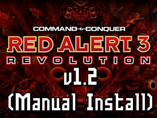 Red Alert 3: Revolution v1.2 (Manual Install)