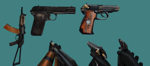 Sven Coop Russian Mini Weapon Pack