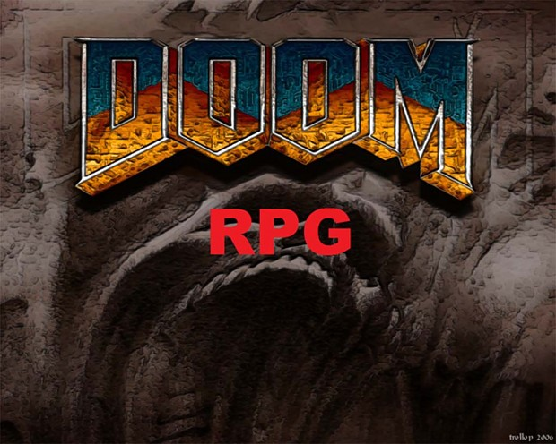 Doom 2 RPG Weapons and HUD