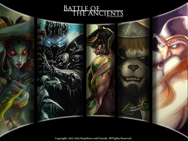Battle of The Ancients 0.1 Alpha Release for (Worl